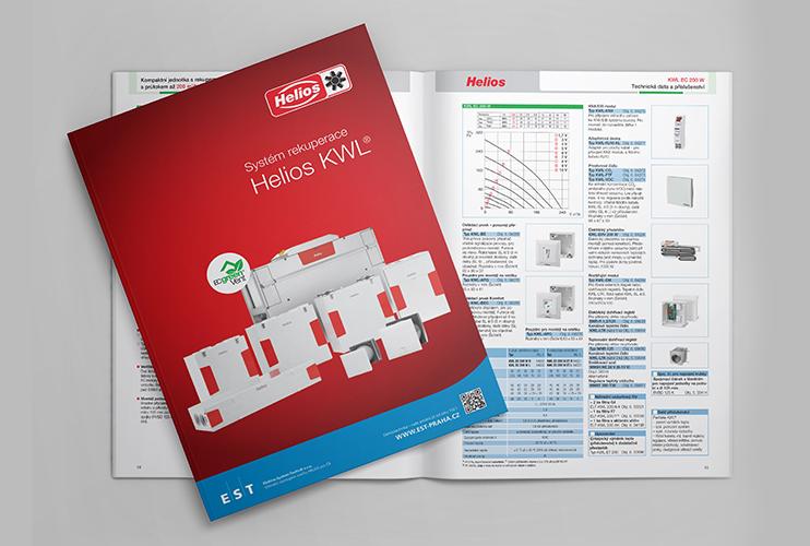 Katalog rekuperací Helios KWL